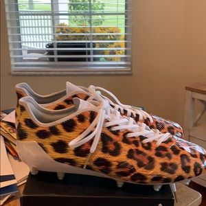 Adidas Adizero 5-Star Uncages Leopard FB Cleats